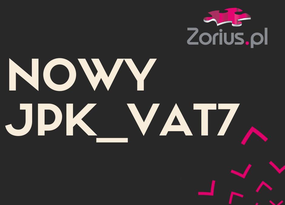 Nowy JPK_VAT7 – o co chodzi?