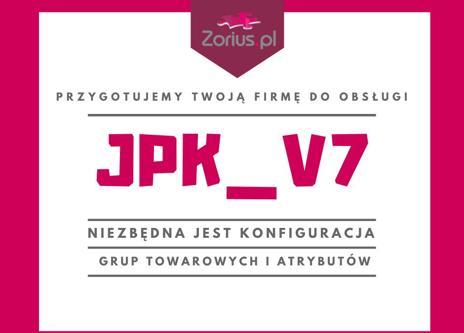 Uwaga!!! Dostępne nowe wersje programów ze zmianami niezbędnymi do obsługi pliku JPK_V7